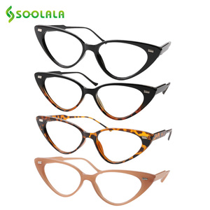 Image 1 - SOOLALA Cat Eye Reading Glasses Women Lesebrille Presbyopic Reading Glasses For Sight 1.0 1.25 1.5 1.75 to 4.0 Glasses Diopter