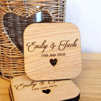 Spersonalizowane kwadratowe drewniane podstawki stół domowy herbata kawa podstawka pod kubek trwałe drewno podstawki podkładki wesele dekoracja tanie i dobre opinie Maty i podkładki