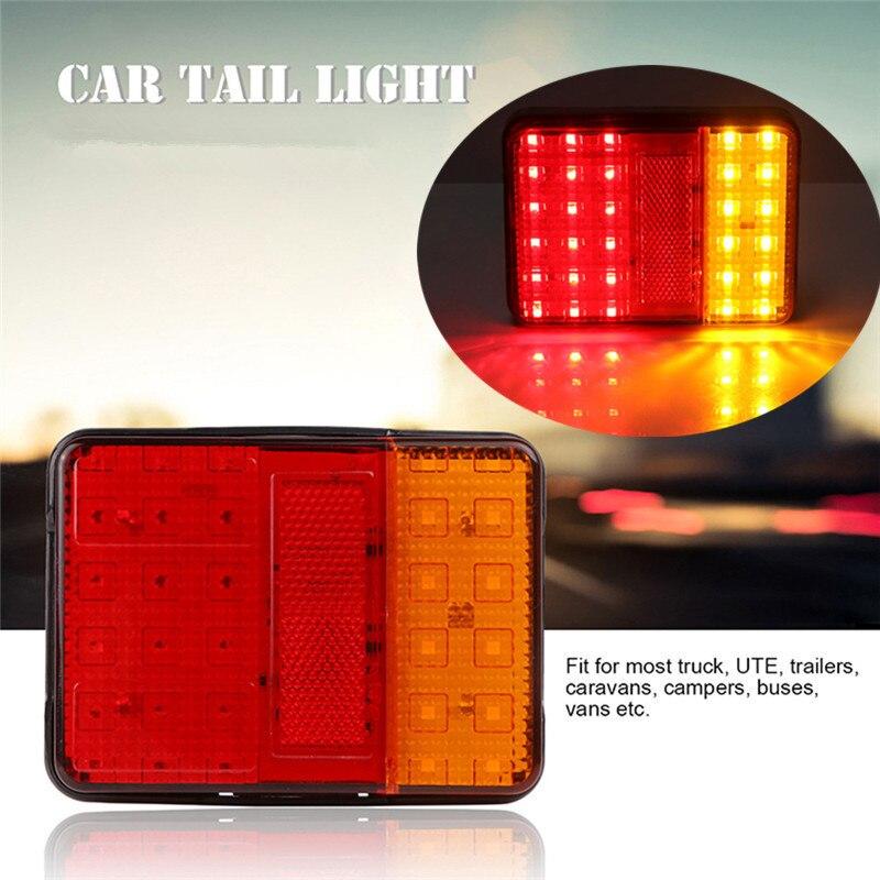izquierda y derecha Luces traseras LED luz trasera 7 polos 12 V