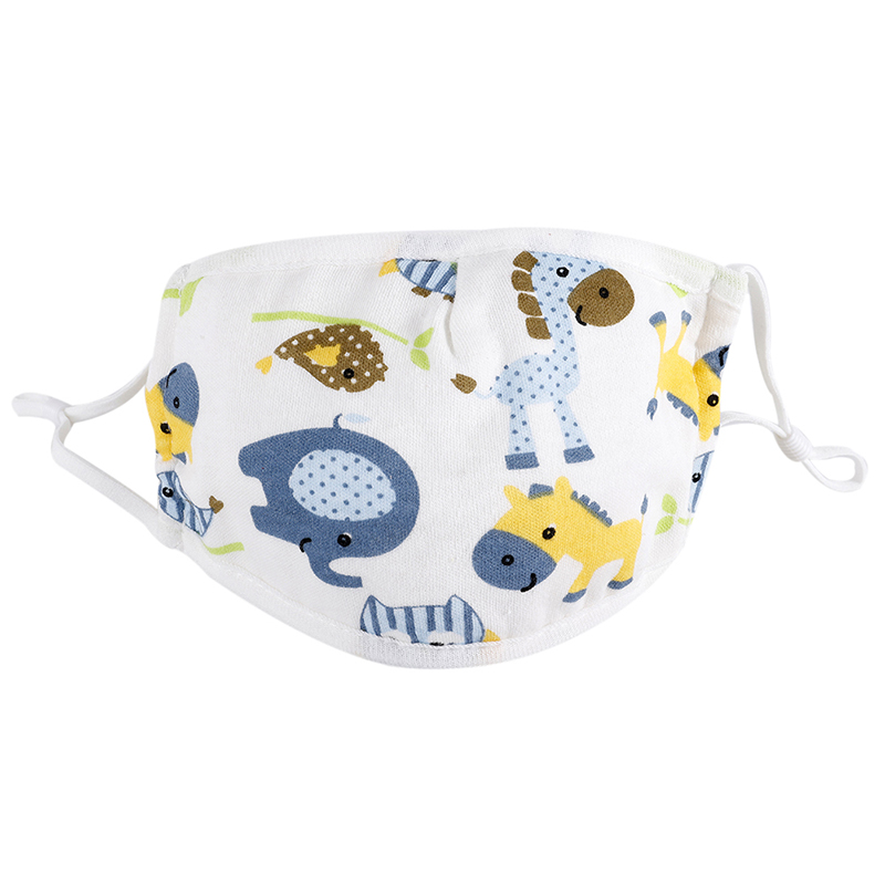 0-5 Years Baby Mask Five-layer Adjustable Cartoon Printed Child Baby Comfortable Cotton Gauze Mask 1 2