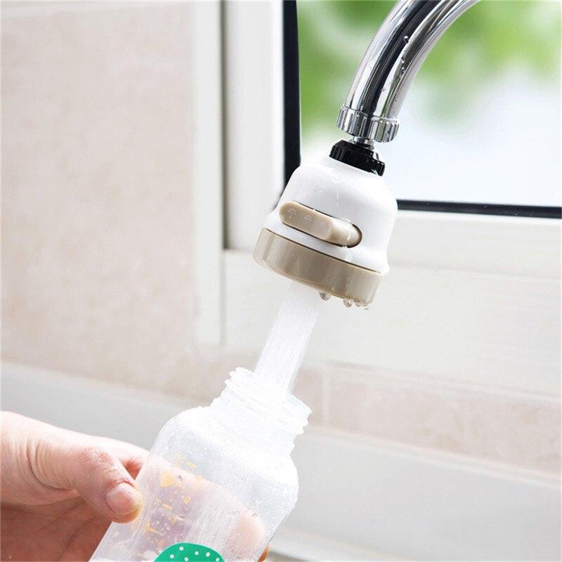 360 Degree Water Bubbler Swivel Head Water Saving Nozzle Tap Adapter Sprinkler Kitchen Water Sprinkler Water Saving Device 2