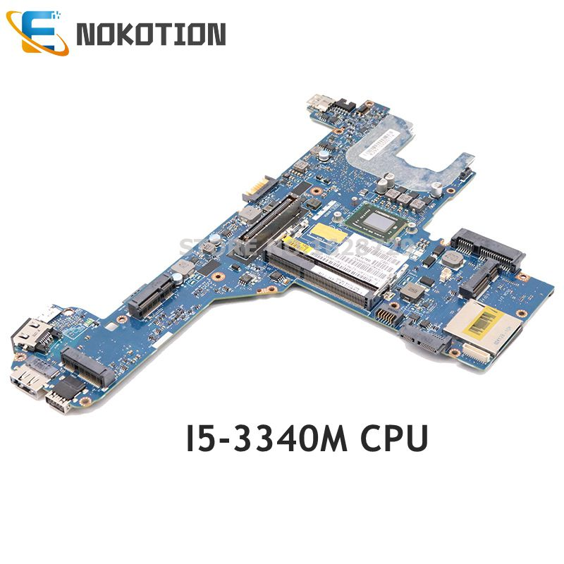 NOKOTION For DELL Latitude E6330 E6430 Laptop Motherboard <font><b>I5</b></font>-<font><b>3340M</b></font> CPU C28RH 0C28RH CN-0C28RH QAL70 LA-7741P MAIN BOARD image