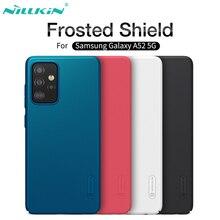 Para samsung galaxy a52 a72 a12 a32 a42 5g 4g caso nillkin fosco escudo duro pc telefone protetor de volta capa para samsung a72 a52
