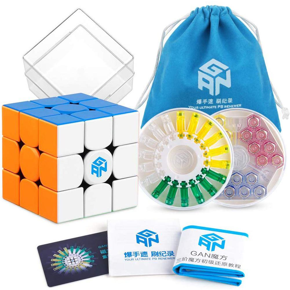 GAN 356 X Speed Cube Stickerless 356X Magnetic Puzzle Cube Adult Children Educational Toy GAN356 X 3x3x3 Magic Cube