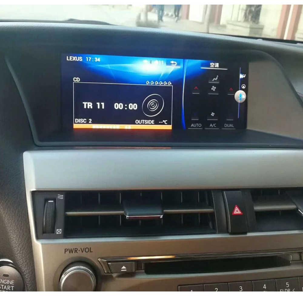 4G + 64G Android 9.0 samochodowy odtwarzacz multimedialny dla Lexus RX270 RX350 RX450 2009-2014 nawigacja samochodowa GPS navi wieża stereo magnetofon jednostka główna