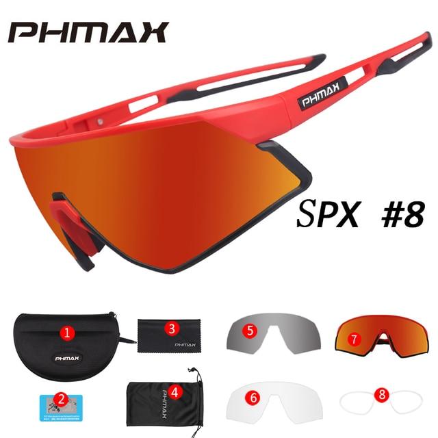 PHMAX Vastupidavad päikseprillid