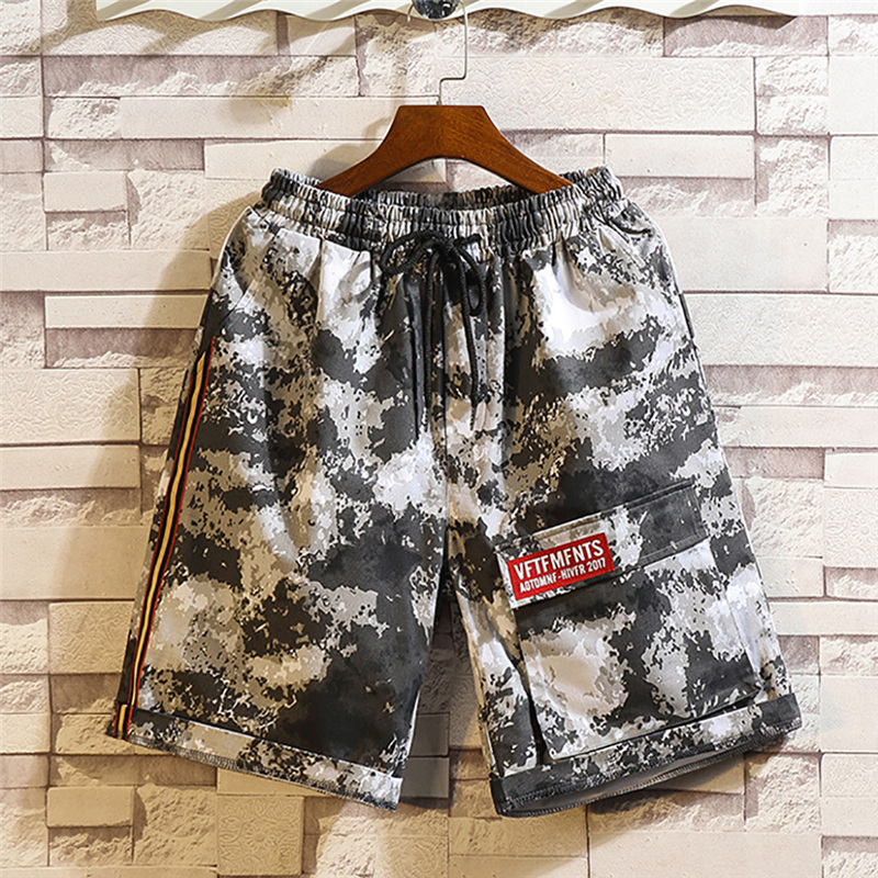 Summer Beach Shorts Men Vintage Printed Hipster Swimming Trousers Beach Surfing Personality Short Masculino Para Academia
