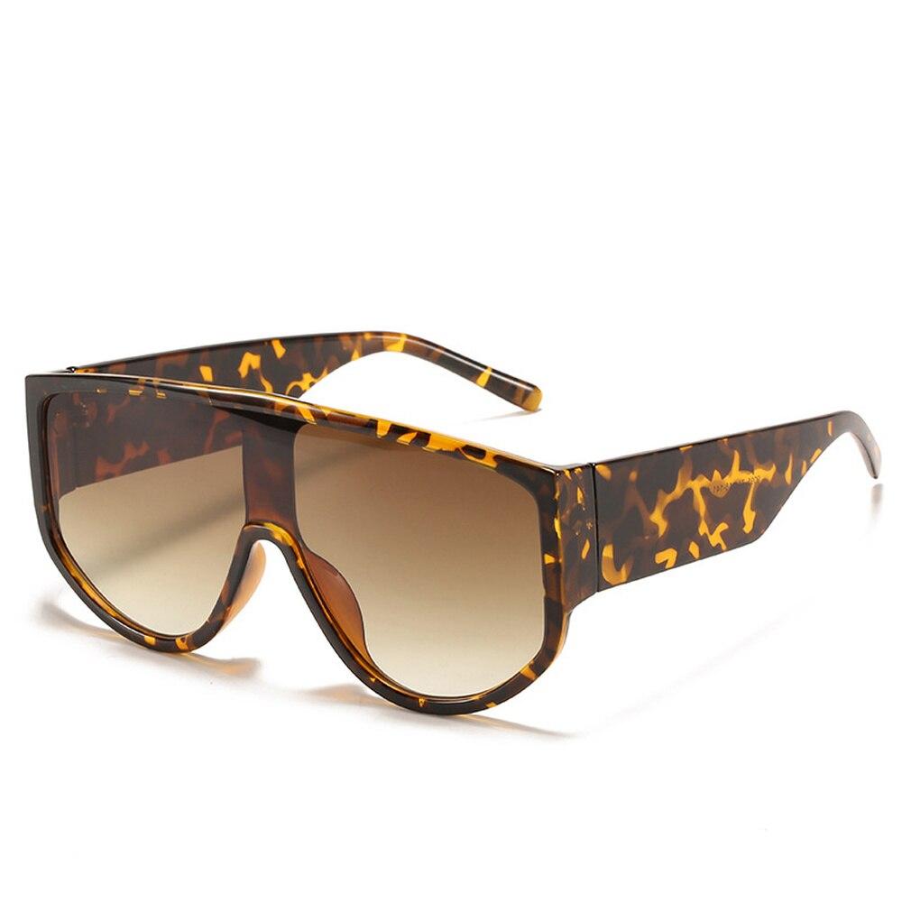 Купить новейшие трендовые цельные солнцезащитные очки большого размера