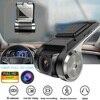 U2 kamera samochodowa DVR nawigacja USB ukryty rejestrator wideorejestrator samochodowy wideorejestrator jazdy kamera HD 1080P 170 ° ADAS kamera na deskę rozdzielczą Monitor