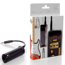 Guitar Link Line Audio Interface Cable Amplifier Effect Pedal Adapter Tuner System Converter for iPhone iPad Guitar Link Line cheap Guitar Audio Adapter