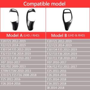 Image 5 - คาร์บอนไฟเบอร์เกียร์เปลี่ยนฝาครอบสำหรับBMW F20 F21 F22 F30 F10 F32 F34 F36 F25 F26 F07 f11 F18 X5 F15 X6 F16 I8 RHD LHD