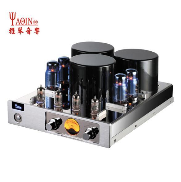 YAQIN MC-13S 6CA7 Tube à vide amplificateur de puissance soupape de poussée amplificateur Audio HIFI stéréo 110 ~ 240V