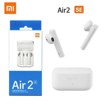 Oryginalny Xiaomi Air 2 SE TWS bezprzewodowe słuchawki Bluetooth 5 0 Mi prawdziwe Redmi Airdots S 2 słuchawki douszne słuchawki dotykowe TWSEJ04WM tanie i dobre opinie Tłok NONE Dynamiczny CN (pochodzenie) Prawdziwie bezprzewodowe Do gier wideo Zwykłe słuchawki do telefonu komórkowego