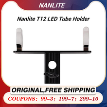 """Nanlite Pavotube Single T12 LED Tube Holder with 5/8"""" Receiver For Mounting Pavotube 15C and 30C to light stands and C stands"""