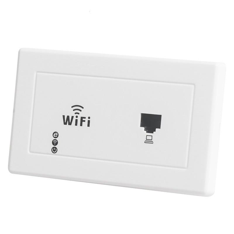 118/120-Shape US Standard Switch WIFI Router Socket Japan Taiwan Cross Border Wireless Embedded Breadboard AP