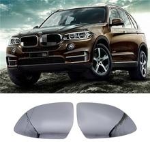 ملحقات مرايا الرؤية الخلفية ، عدسات زجاجية مع وظيفة ساخنة لسيارات BMW X3 X4 X5 2014 2015 2016 2017 2018