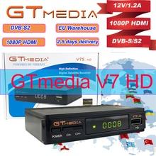 Gtmedia V7S HD 1080P Receptor DVB-S2 Satellite Receiver HD Tv HD Box line Decoder Biss VU PVR WiFi Youtube Freesat v7 receptor