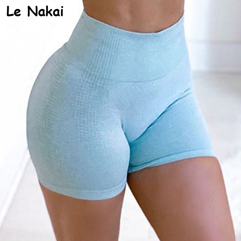 High Waist Vital Seamless Yoga Shorts Fit Cycling Short Workout Gym Shorts For Women Push Up Seamless Leggings Biker Short