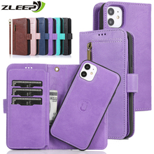 Flip Magnetic Case For iPhone 12 Mini 11 Pro XS Max XR X 7 8 6 6s Plus SE 2020 Luxury Leather Wallet Phone Cover Card Slot Coque