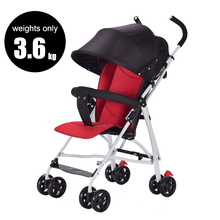 Ultra-light folding baby shock absorber baby light trolley yoya stroller in four wheels stroller FREE SHIPPING