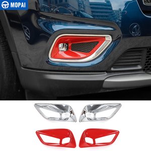 Image 1 - MOPAI Car Stickers for Jeep Cherokee 2019+ ABS Car Front Fog Light Lamp Decoration Cover Accessories for Jeep Cherokee 2019+