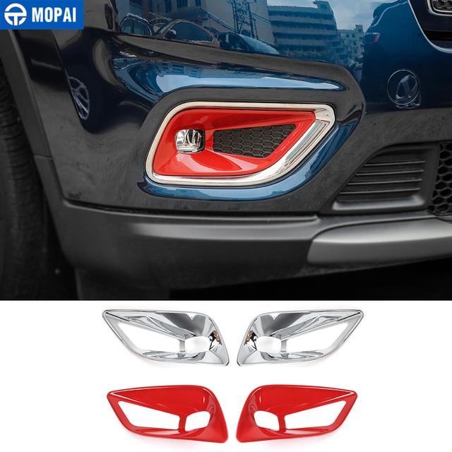 Mopai Auto Stickers Voor Jeep Cherokee 2019 + Abs Auto Mistlamp Lamp Decoratie Cover Accessoires Voor Jeep Cherokee 2019 +
