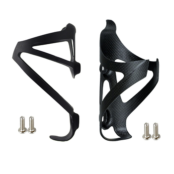 2PCS Full Carbon Fiber Bicycle Water Bottle Cage MTB Road Bike Bottle Holder Ultra Light Cycling Bike Accessories 3K Matte