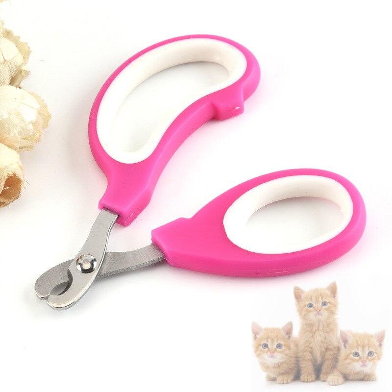 1PCs Pet Nail Clipper Scissors Pet Dog Cat Nail Toe Claw Clippers Scissors Trimmer Grooming Tools Pet Supplies Random Color