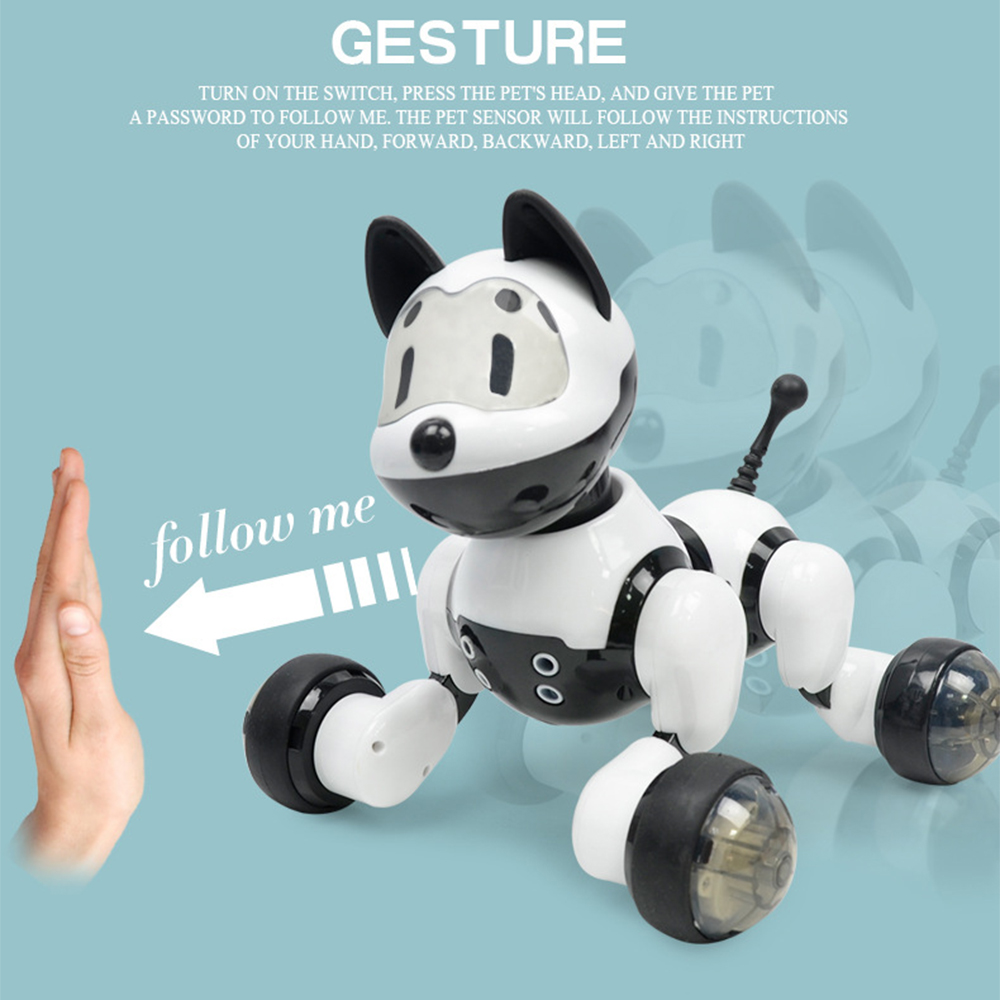 Children Voice Control Smart Robot Dog Kids Toy Intelligent Talking Robot Dog Toy Electronic Pet Birthday Gifts Dropshipping