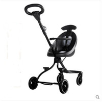 Baby stroller folding lightweight two way baby strollerBaby stroller baby out stroller portable stroller can be folded and