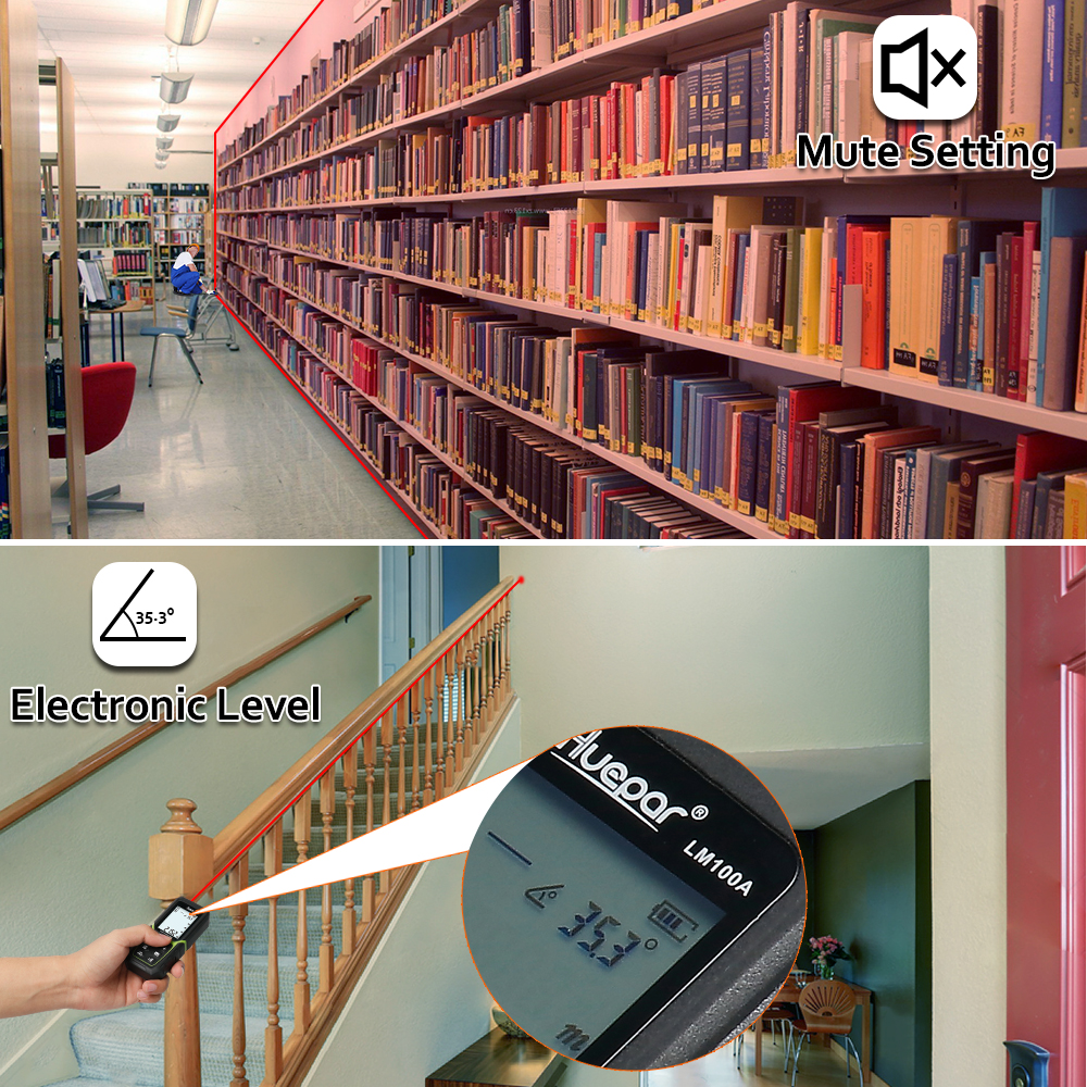 50 m li-ion bateria elétrica ângulo sensor