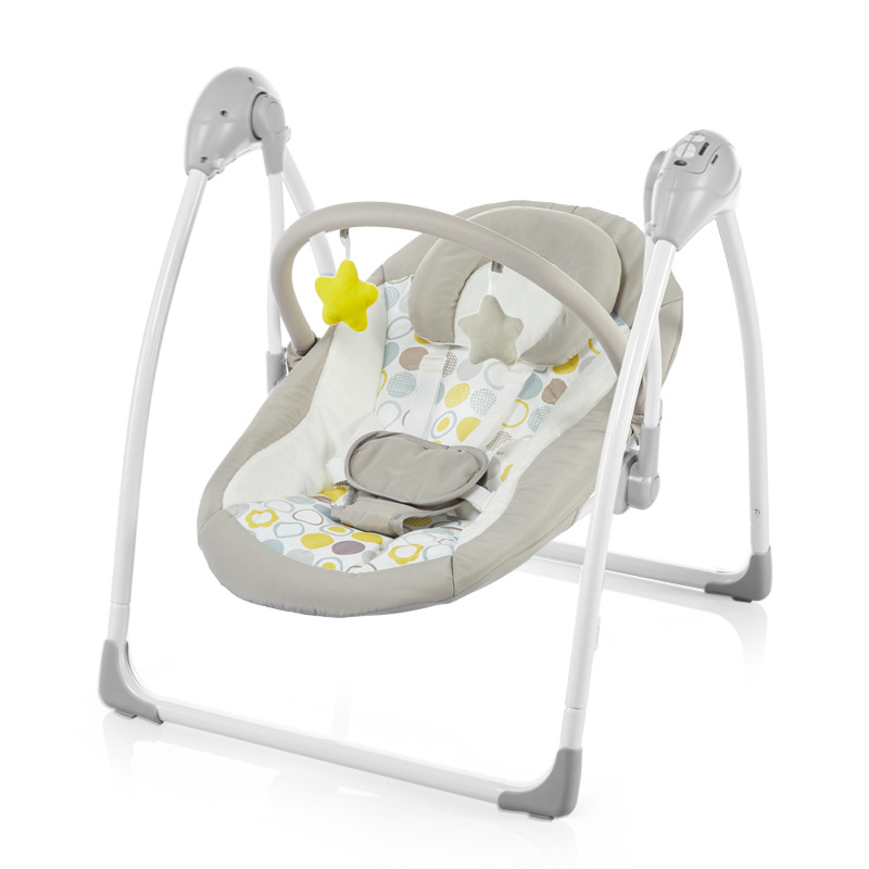 2020 Safety Baby Rocking Chair 0-3 Baby Electric Cradle Rocking Chair Soothing The Baby's Artifact Sleeps Newborn Sleeping