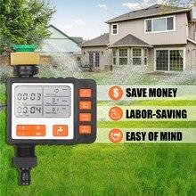 3in watertimer programável única tomada automática em fora torneira de água mangueira temporizador sistema irrigação controlador com modo manual