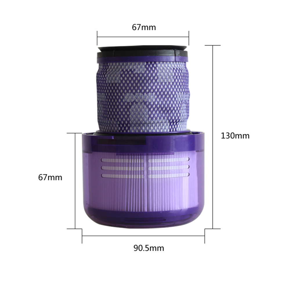 Washable Big Filter Unit for Dyson V11 Sv14 Cyclone Animal Absolute Total Clean Cordless Vacuum Cleaner  Replace Filter|Vacuum Cleaner Parts| |  - title=