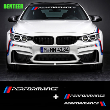 Power Motorsport Car Windscreen Windshield Sticker For BMW E90 E60 F30 F10 320 328 330 520 E36 E70 M3 M5 E39 E36 E46 E87 E30 image
