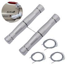 FOSHIO araç amblemleri sökücü silecek araba gövde logosu Metal çıkartmalar kaldırmak bıçaksız PE tel bant tamir aracı vinil sarma aracı