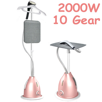2 IN 1 2000W Household Garment Steamer handheld ironing machine 10 gear adjustable vertical flat steam iron clothes steamer