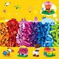 300 шт/1000 шт креативные DIY строительные блоки кирпичи модели Фигурки Развивающие детские игрушки Совместимые блоки Друзья Legoblocks