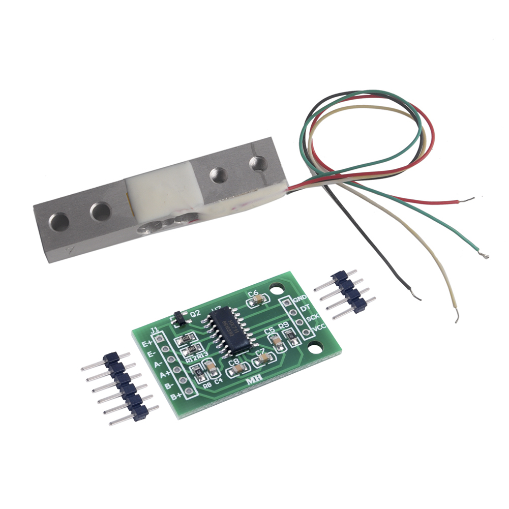 300g Scale Load Cell Weight Weighing Sensor Module+ HX711 24bits AD Module For Arduino DIY RCmall