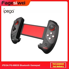 iPEGA PG-9083S Red Bat Wireless Bluetooth Gamepad Telescopic Game Controller Plug & Play for Android