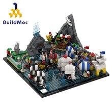 Buildmoc clássico arquitetura série a eternidade modelo blocos de construção criador barco filme tijolos diy brinquedos presentes para crianças