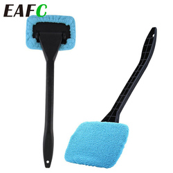Auto Car Windshield Wash Brush Windscreen Window Glass Microfiber Dust Cleaner Towel Care Tool Kits Long Handle