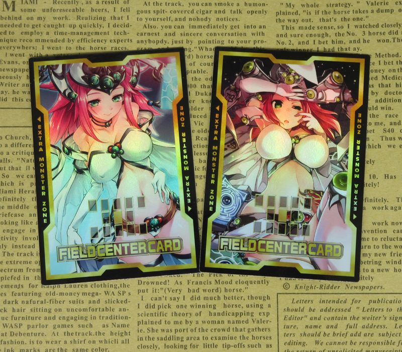 2pcs/set High Priestess Of Prophecy Field Center Cards TCG Duel Monster Classic Collectible Card