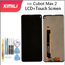 """100% Getest Nieuw Voor Cubot Max 2 Lcd scherm En Touch Screen 6.8 """"Montage Reparatie Onderdelen Met Gereedschap En lijm Voor Cubot Max 2"""