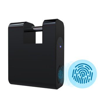 Fingerprint Padlock 20 Sets Fingerprint Unlock USB Rechargeable Smart Lock Fingerprint Lock Fingerprint Padlock фото