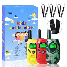 3pcs Kids Walkie Talkie Mini 0.5W PMR 446 FRS UHF Radio Two Way Radio Portable Ham Radio woki toki walkie talkies
