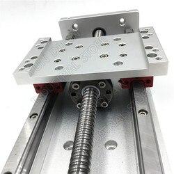 12 300MM Stroke XYZ Axis Cross Electric Sliding Table Slide Linear Stage SFU1605 Ballscrew HG15 guide platform CNC Drilling