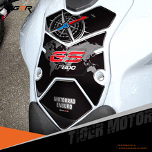 For BMW F800GS Tankpad F800 GS 2008 2012 3D Motorcycle Fuel Gas Tank Pad Protector