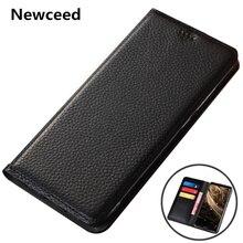 Litchi Pattern Genuine Leather Wallet Phone Case For Xiaomi Mi MAX
