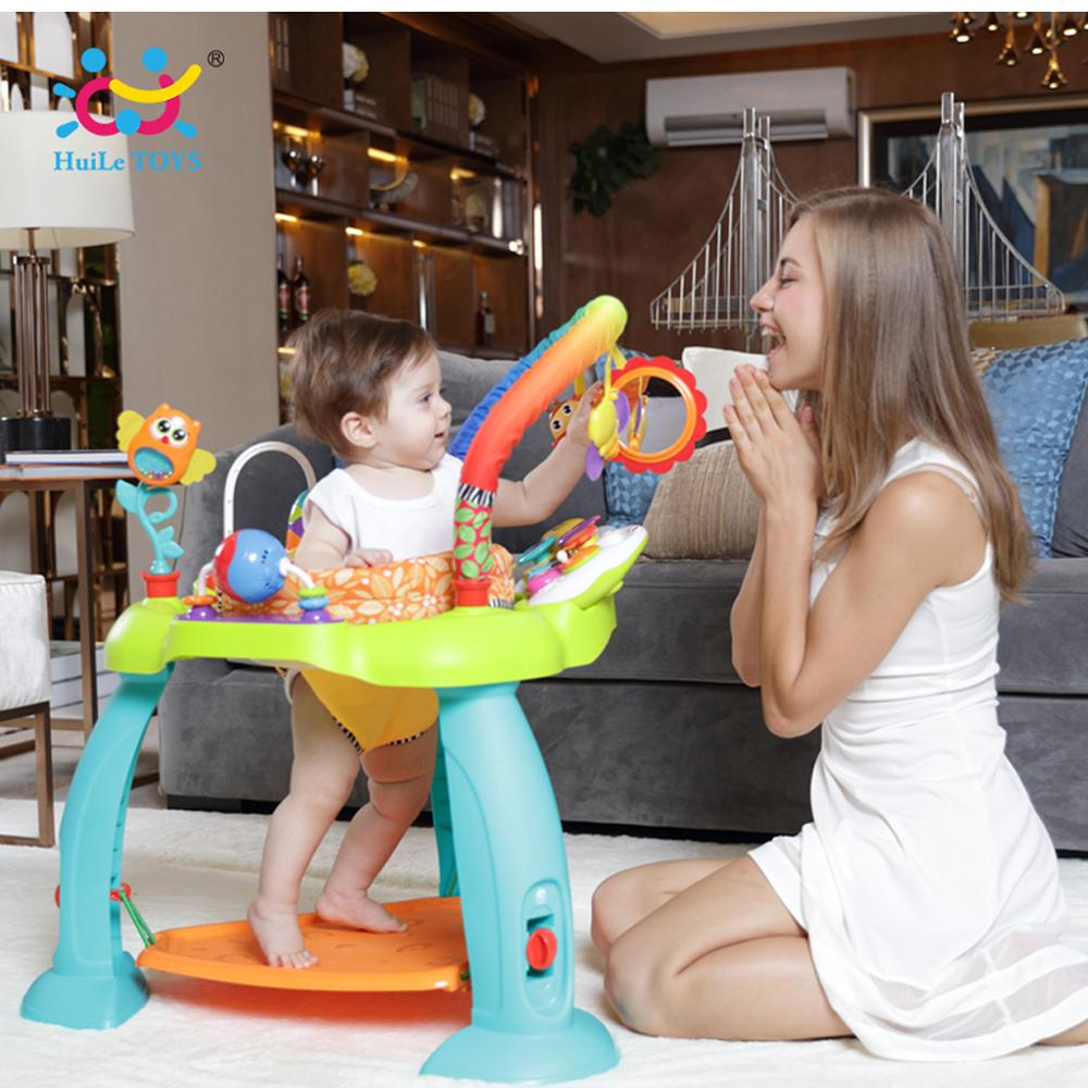 HOLA 2106 Baby Bouncing Swing Piano Bounce First Steps Jumperoo Jump & Learn Stationary Jumper Luxury Activity Paradise